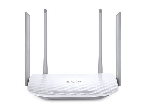 cumpără TP-LINK  Archer C50, AC1200 Dual Band Wireless Router, Atheros, 867Mbps at 5Ghz + 300Mbps at 2.4Ghz, 802.11ac/a/b/g/n, 1 WAN + 4 LAN, Wireless On/Off and WPS button, 1xUSB port, 2 external antennas în Chișinău