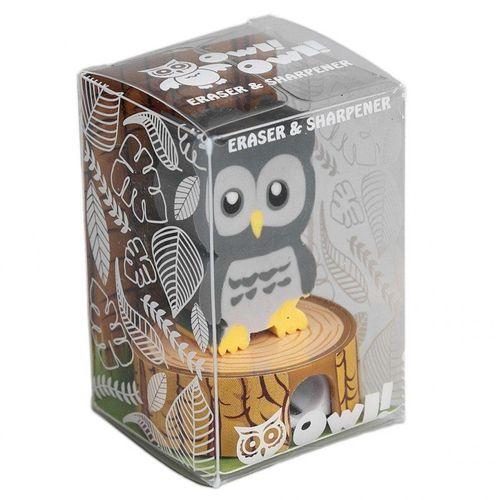 купить Ластик и точилка для карандашей, Grey Owl в Кишинёве