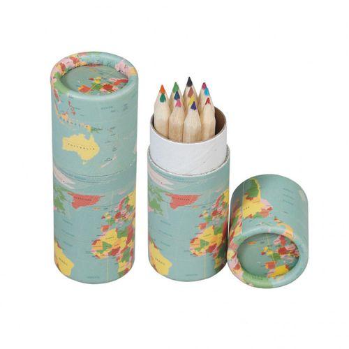 купить Набор из 12 карандашей для раскраски карты мира в Кишинёве