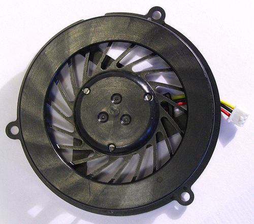 купить CPU Cooling Fan For HP Compaq CQ50 CQ60 CQ70 G50 G60 G70 (AMD, Round Version) (3 pins) в Кишинёве