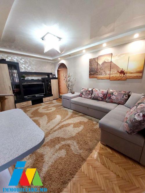 Apartament cu 3 camere, sec. Botanica, str. Nicolae Titulescu.