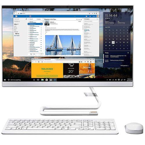 "купить Компьютер моноблок 23.8"" Lenovo IdeaCentre AIO 3 24ARE05 White, AMD Ryzen 3 4300U 2.7-3.7GHz/8GB DDR4/SSD 256GB/AMD Radeon Graphics/DVDRW/Webcam HD/Speakers 2x3W/WiFi 802.11AC +Bluetooth 5.0/Gigabit LAN/23.8"" FullHD WVA (1920x1080)/Wireless Keyboard&Mouse/No OS в Кишинёве"