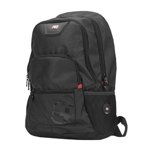 "купить 15.6"" NB Backpack - SUMDEX RED (S) ""City"", Black, Main Compartment: 38 x 28 x 4 cm, Dimensions: 41 x 33 x 16 cm в Кишинёве"