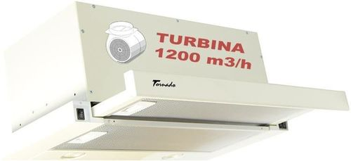 купить Вытяжка Tornado Storm 1200 (60) LED BEJ в Кишинёве