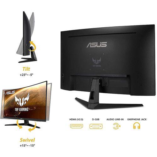 "купить Монитор 31.5"" ASUS TUF Gaming VG328H1B Curved 1500R Gaming Monitor WIDE 16:9, 0.363, 1ms, 165Hz, FreeSync Premium, Asus Aura RGB, Contrast 3000:1, Speakers 2x2W, 24 ~180 KHz (H) /50 ~165 Hz, Full HD 1920x1080, 2xHDMI v.2.0 (monitor/Монитор) в Кишинёве"