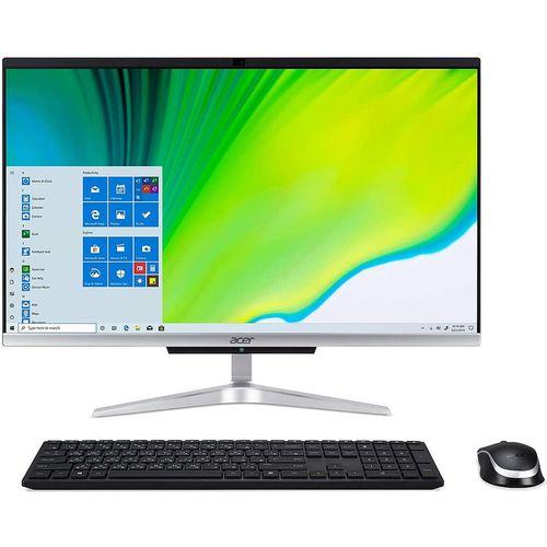 "купить Компьютер моноблок 23.8"" ACER Aspire C24-963 Iron Gray, Intel Core i3-1005G1 1.2-3.4GHz/8GB DDR4/SSD 256GB/Intel UHD Graphics/Webcam HD/Speakers 2x3W/WiFi 802.11AC +Bluetooth 5.0/Gigabit LAN/23.8"" FullHD IPS (1920x1080)/Keyboard&Mouse/Windows 10Pro в Кишинёве"