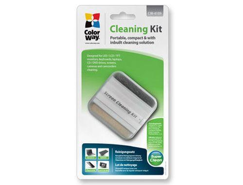 купить ColorWay CW-4109 LCD Screen Compact Cleaning Kit Spray + Cleaning Brush в Кишинёве