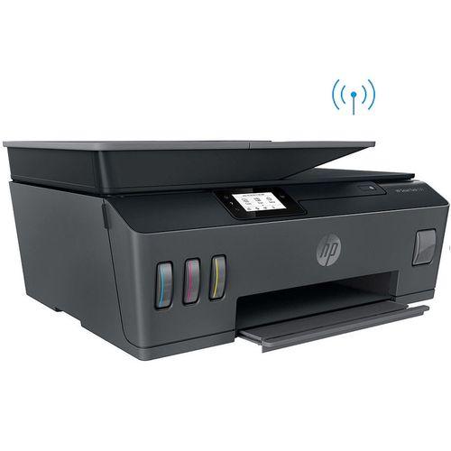 купить МФУ струйное MFD CISS HP Smart Tank 530 Wireless, Black/Gray, A4, ADF 35p, up to 11ppm/5ppm black/color, up to 4800x1200 dpi, Up to 800 p/m, 800Mhz, 256 Mb, 7 segment LCD, Hi-Speed USB 2.0, Wi-Fi, Bluetooth LE, (3*GT53XL Black 135ml, 1*GT52 C/M/Y) в Кишинёве