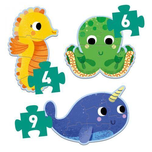 купить Puzzle progresiv - Lumea submarină - DJ07144 в Кишинёве