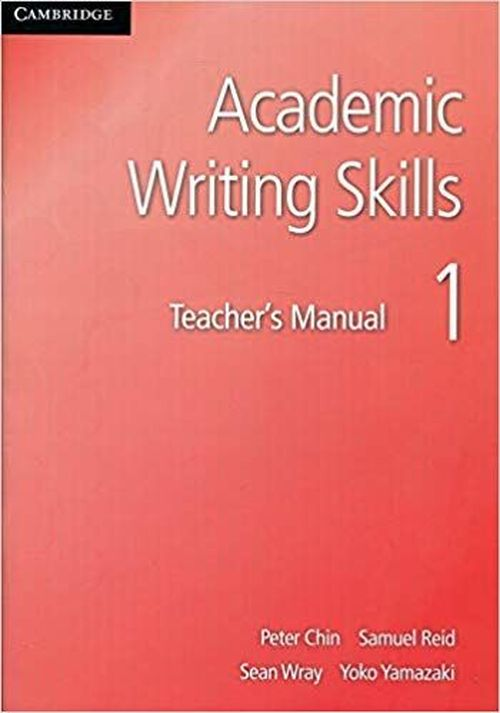 купить Academic Writing Skills 1 Teacher's Manual в Кишинёве