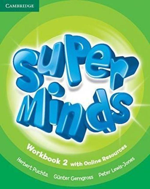 купить Super Minds Workbook Level 2 в Кишинёве