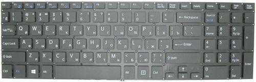 "купить Keyboard Sony SVF15 SVF15A SVF15E w/o frame ""ENTER""-small ENG/RU Black в Кишинёве"