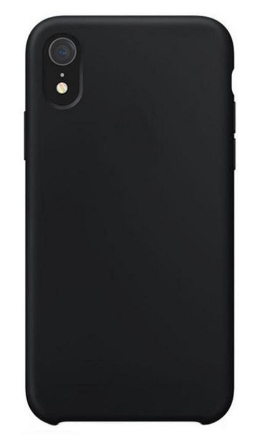 купить Чехол для смартфона Helmet iPhone XR, Black Liquid Silicone Case в Кишинёве