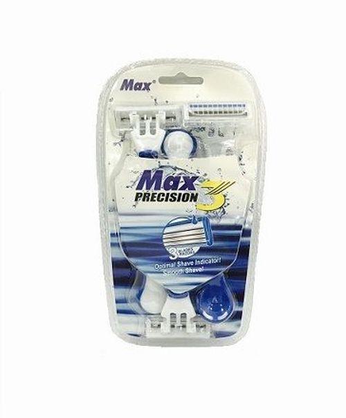 купить Бритвенный станок MAX Precision 3шт в Кишинёве