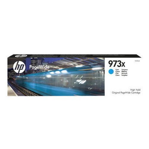 купить HP 973X High Yield Cyan Original PageWide Cartridge в Кишинёве