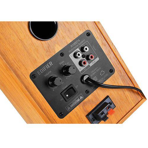 купить Колонки Active Speakers Edifier R1000T4 Brown wooden, RMS 24W, 2x12W (boxe sistem acustic/колонки акустическая сиситема) в Кишинёве