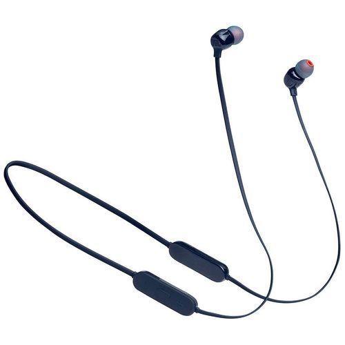 купить JBL Tune T125BT Blue Bluetooth Wireless In-Ear Headphones, 20Hz-20kHz, 16 Ohms, 96dB, Microphone, Remote, BT5.0, 120 mAh Lithium-Ion Polymer up to 16 hours, (casti cu microfon fara fir JBL / беспроводные наушники с микрофоном JBL) в Кишинёве