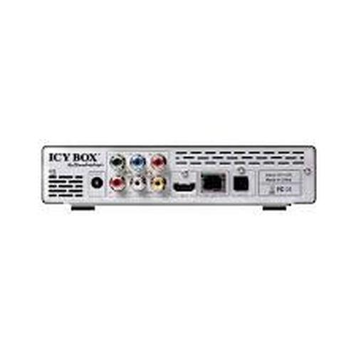 "cumpără FullHD Media Player RaidSonic ICY BOX ""IB-MP3011HW-B"", Full High Definition, Realtek RTD1073 DD(C+), 3.5"" SATA HDD, LAN 10/100Mb, 2xUSB 2.0 Host, 1xUSB 2.0 Device, 1xSD card slot, Composite, Component, HDMI, Stereo L/R, SPDIF(Optical), Black în Chișinău"