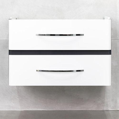 купить Nevada Шкаф антрацит с умывальником Luxor 800 в Кишинёве