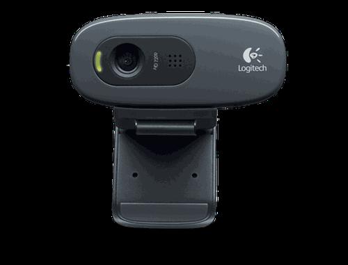 купить Logitech Webcam C270, Microphone, HD video calling (1280 x 720 pixels), Photos: Up to 3 megapixels (soft. enh.), RightLight, RightSound, USB 2.0, 960-001063, (camera web/веб-камера) в Кишинёве