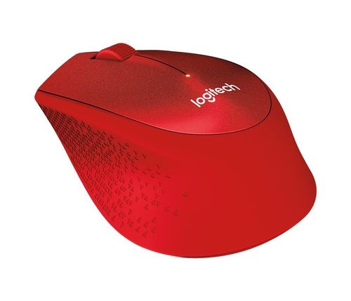 купить Logitech Wireless M330 Silent Plus, Optical Mouse for Notebooks, nano receiver, Red в Кишинёве