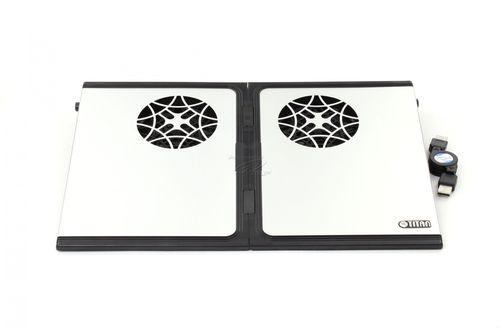 "купить Titan TTC-G9TZ Notebook Cooling Pad up to 15"", 2 fans -80x80x10mm, 1500rpm, <20dBA, 2 в Кишинёве"