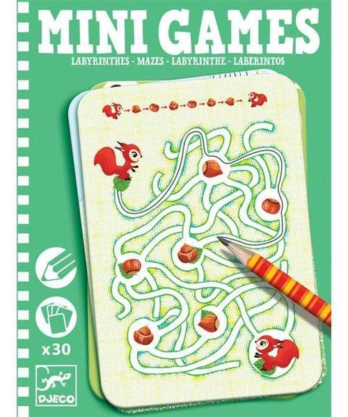 купить Djeco Ariadne Maze Puzzle Mini Games в Кишинёве