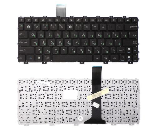 "купить Keyboard Asus EeePC 1015 1011 Transformer TF101 w/o frame ""ENTER""-small ENG/RU Black в Кишинёве"
