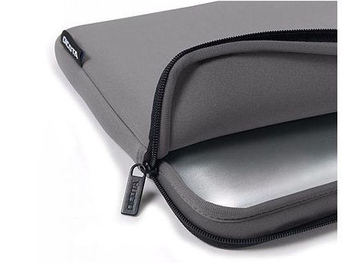 """купить Dicota D31295 Skin BASE Neoprene Sleeve for notebook 15""""-15.6"""" Grey (husa laptop/чехол для ноутбука) в Кишинёве"""