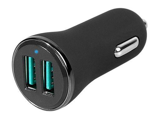 купить Зарядное устройство сетевое Tracer Car Charger I2-24V Fast charge 2 x USB QC 3.0 в Кишинёве