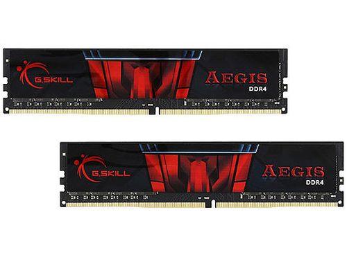 купить 16GB DDR4 Dual-Channel Kit G.SKILL Aegis F4-3200C16D-16GIS 16GB (2x8GB) DDR4 PC4-25600 3200MHz CL16, Retail (memorie/память) в Кишинёве