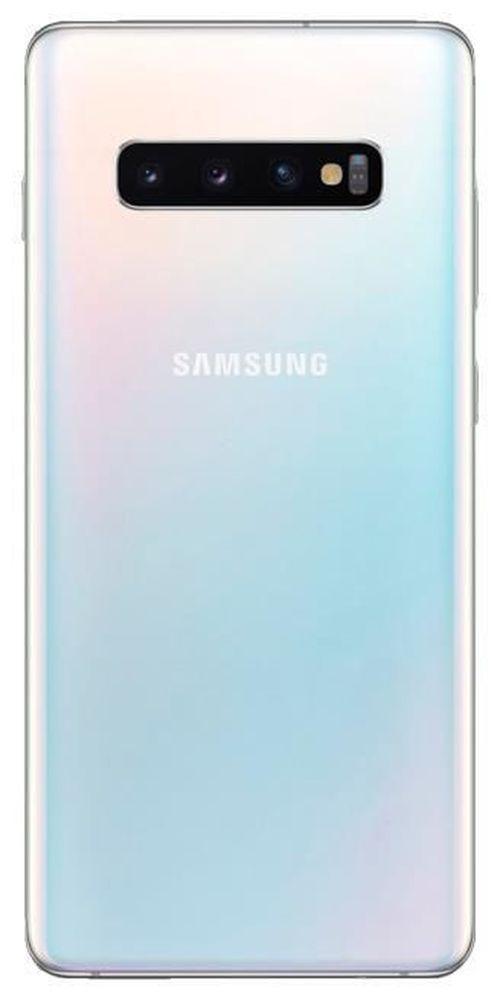 cumpără Smartphone Samsung G975/128 Galaxy S10+ Prism White în Chișinău