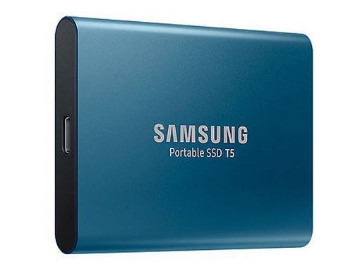 купить 250GB Samsung Portable SSD T5 MU-PA250B/WW External SSD, Blue, Transfer speed 540 MB/s, USB 3.1/Type-C, (SSD extern/внешний SSD) в Кишинёве