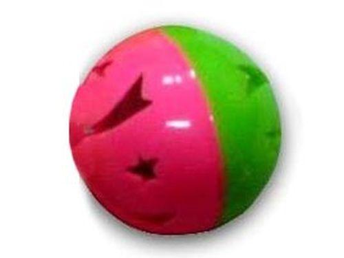 купить Мяч пласт, с узором, с бубенчиком, d4,1см в Кишинёве