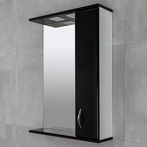 купить Aris Шкаф-зеркало дуб фаскари 600 R в Кишинёве