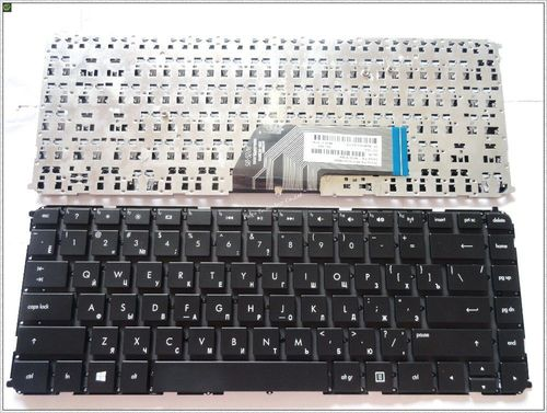 "купить Keyboard HP Envy 4-1000 6-1000 w/o frame ""ENTER""-small ENG/RU Black в Кишинёве"