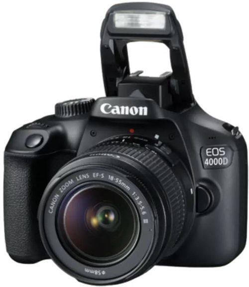 cumpără Aparat foto DSLR Canon EOS 4000D & EF-S 18-55mm II f/3.5-5.6 IS II în Chișinău