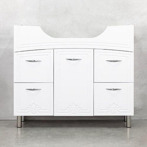 купить Deco One Шкаф белый с умывальником Zenon 970 в Кишинёве