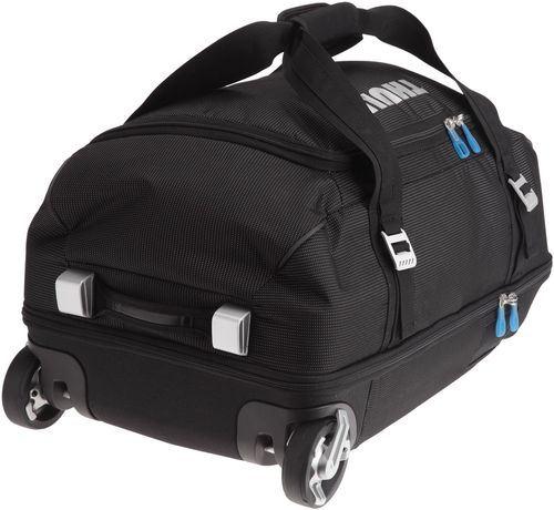 купить THULE Travel Bag - Crossover 56L Rolling Duffel, Black, Safe-zone, Dobby Nylon, Dimensions 38 x 32.5 x 64 cm, Weight 3.5 kg, Volume 56L, Gear bag with a wide mouth access to easily load helmets, boots, gloves, jackets and other travel essentials в Кишинёве