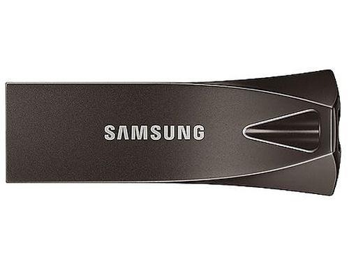 купить 32GB USB Flash Drive Samsung BAR Plus MUF-32BE4/APC, Read 200MB/s, Titan Gray Metal Body, USB 3.1, waterproof, shock-proof, temperature-proof, magnet-proof, and X-ray-proof, (memorie portabila Flash USB/внешний накопитель флеш память USB) в Кишинёве
