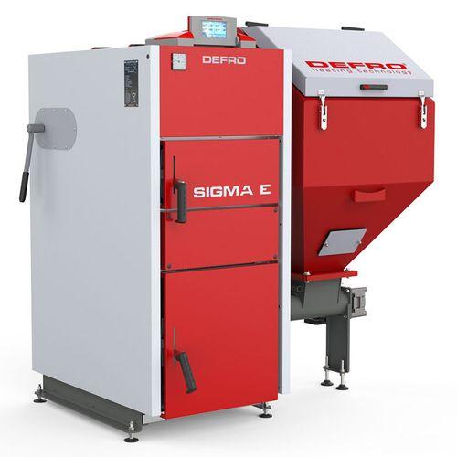 купить Твердотопливный котёл Defro Sigma E 24 кВт в Кишинёве