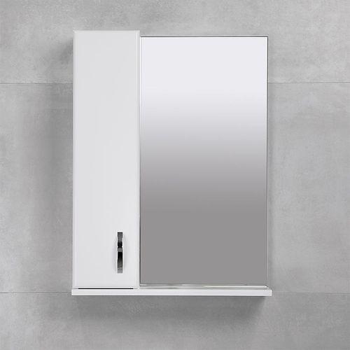 купить Bris Шкаф-зеркало белое 550 L в Кишинёве