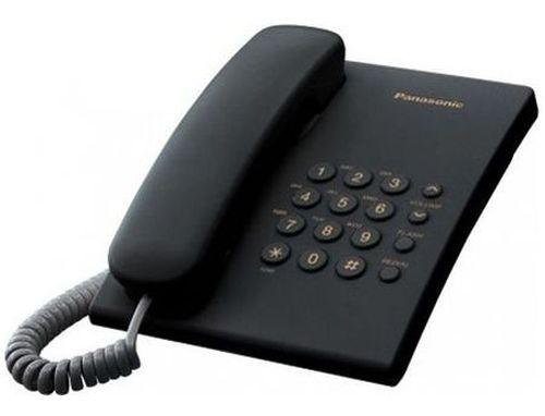 купить Telephone Panasonic KX-TS2350UAB, Black (telefon cu fir/проводной телефон) в Кишинёве