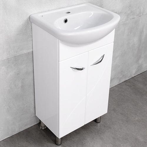купить Premium Шкаф белый Pro под умывальник Azov 450 в Кишинёве