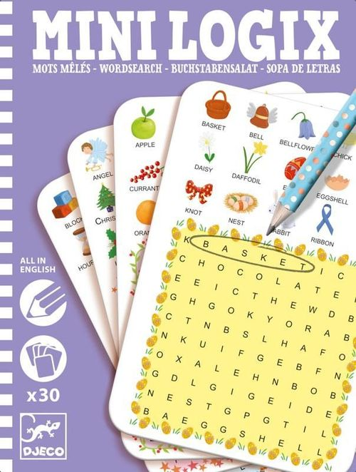 купить Mini Logix Word Search Game в Кишинёве