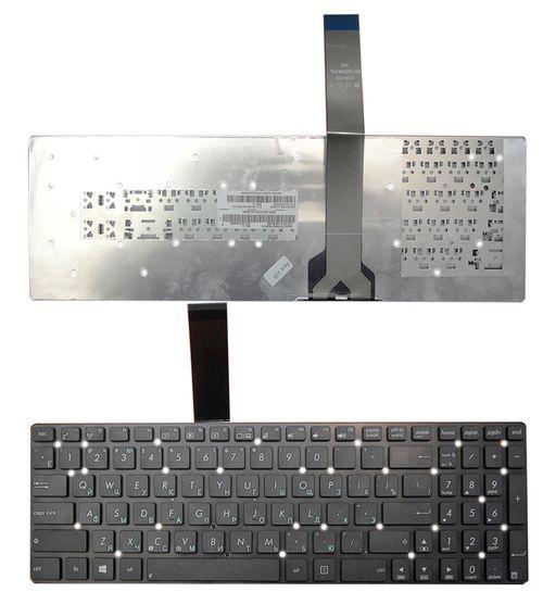 "cumpără Keyboard Asus K55 A55 U57 A75 K75 R500 R503 R700 F751 X751 w/o frame ""ENTER""-small ENG/RU Black în Chișinău"