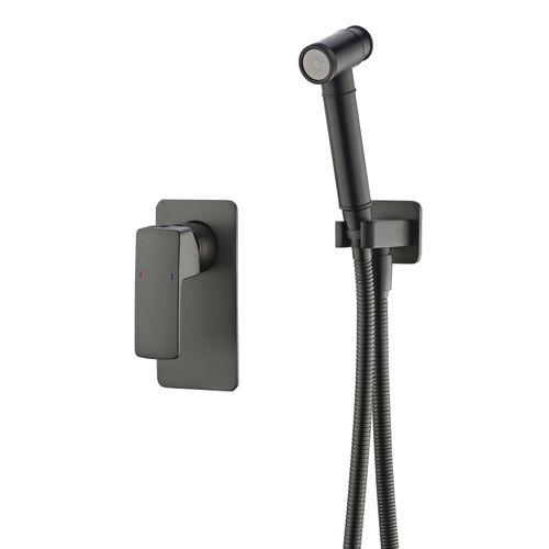 GRAFIKY набор (смеситель скрытого монтажа с гигиеническим душем) (ванная комната)