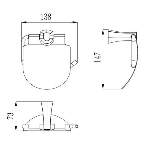CUTHNA antiqua держатель для туалетной бумаги