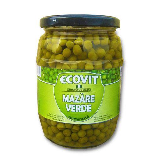 """купить Зелёный Горох (консервированный) """"EcoVit"""" 720мл. в Кишинёве"""