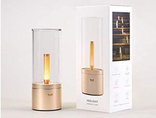 купить Xiaomi Yeelight Ambiance Atmosphere Lamp, Brightness adjustment 1%-100%, Color Temperature 1800K, Sync Multiple Lamps, Bluetooth, 6.5W, MUE4079RT www в Кишинёве
